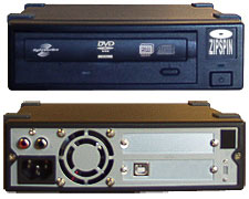 Blu-ray and DVD External USB lightScribe duplicators.