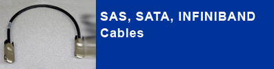 Professional SAS cable manufacturer including SATA and Infiniband cables.