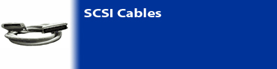 Network connection with SCSI Cable
