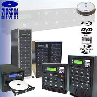 ZipSpin Data Storage Solutions